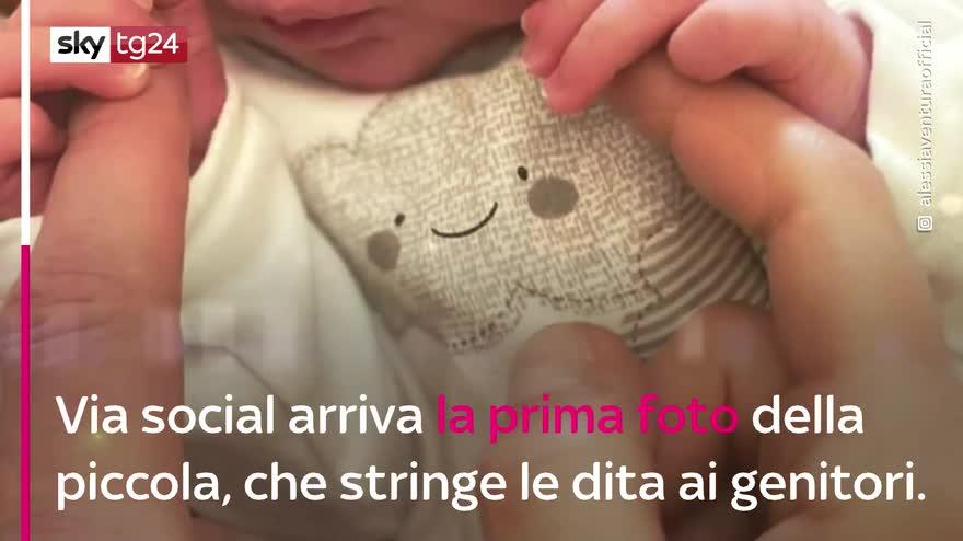 VIDEO Alessia Ventura è diventata mamma