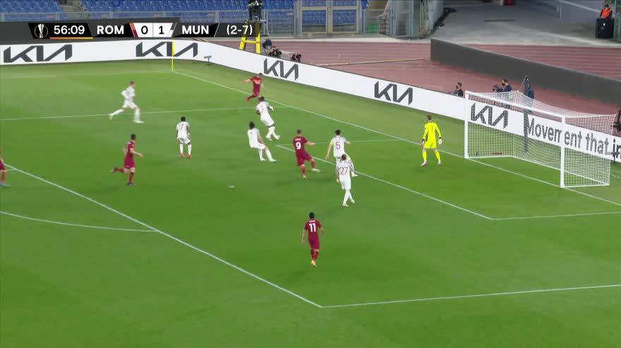Roma-Manchester United 3-2: gol e highlights