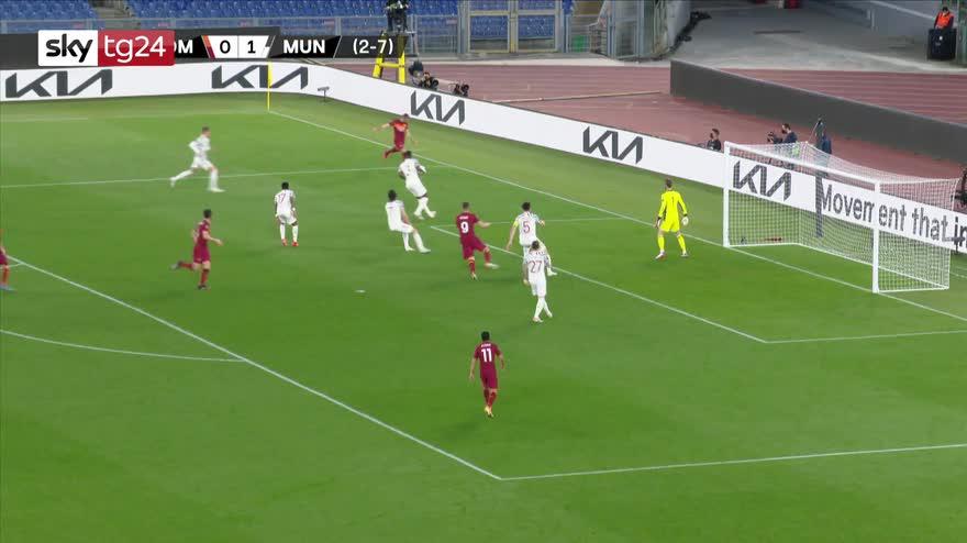 Europa League, Roma-Manchester Utd 3-2: gol video highlights