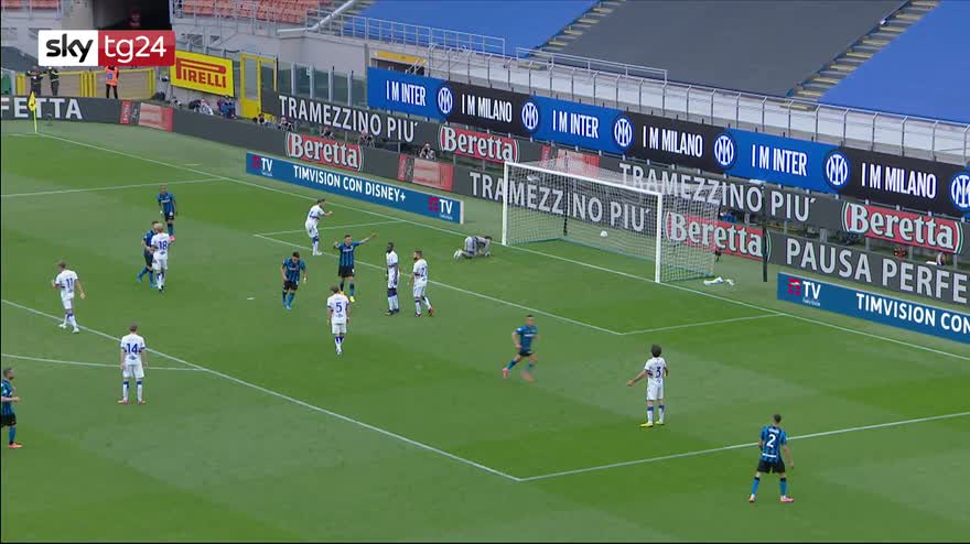 Serie A, Inter-Sampdoria 5-1: video, gol e highlights