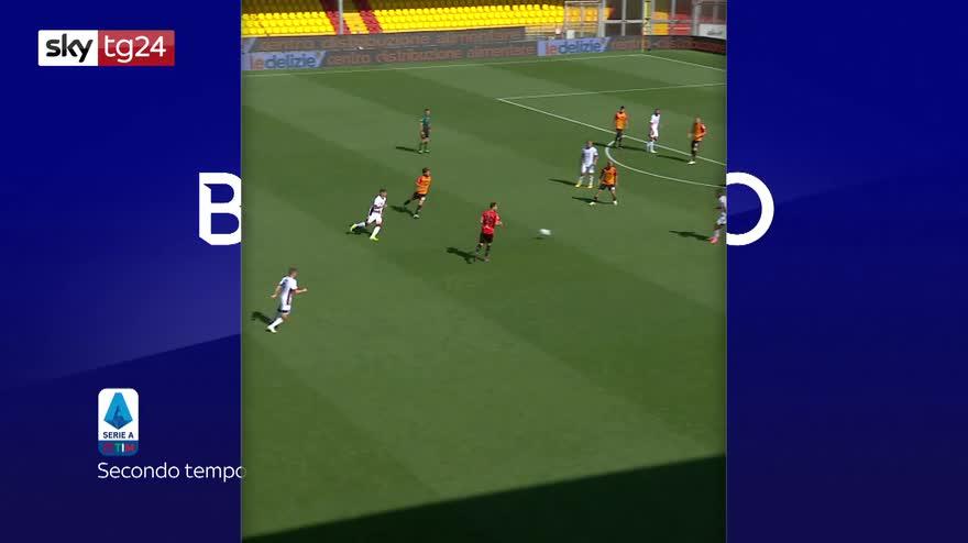 Serie A, Benevento-Cagliari 1-3: video, gol e highlights