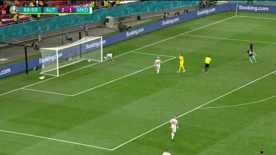 VIDEO. Austria-Macedonia del Nord, Arnautovic segna il 3-1