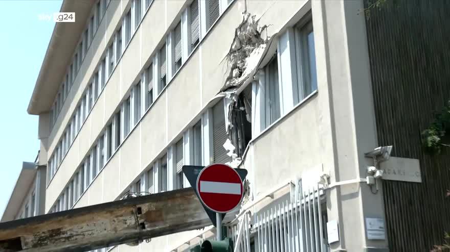 Trivella caduta a Milano, il racconto di una testimone