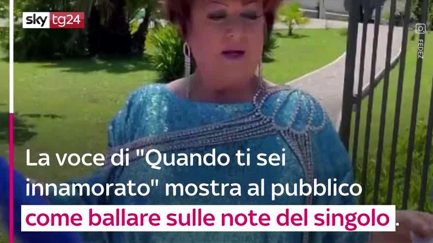 """VIDEO Fedez, Lauro e Orietta Berti, il tutorial di """"Mille"""""""