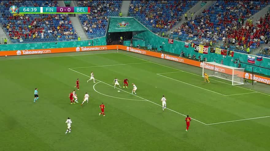 Euro 2020, Finlandia-Belgio 0-2: gol e highlights