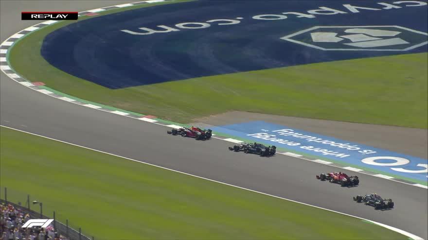 Verstappen e il contatto con Hamilton: ricostruzione