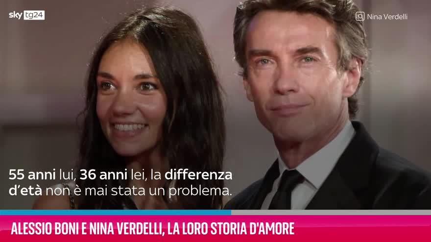 VIDEO Alessio Boni e Nina Verdelli, la loro storia d'amore