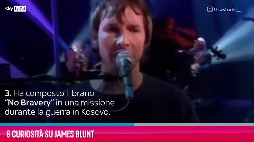 VIDEO James Blunt, 6 curiosità sul cantante