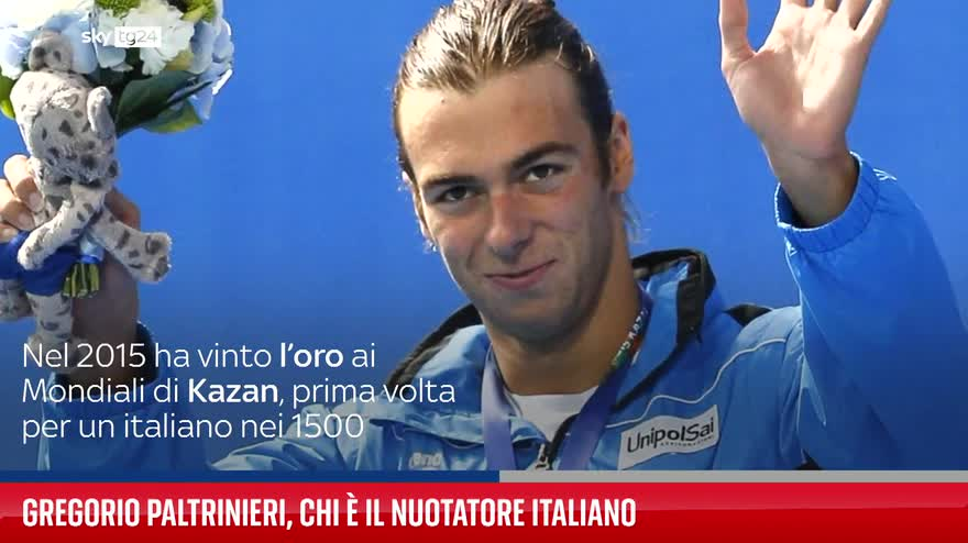 Gregorio Paltrinieri, chi è il nuotatore italiano