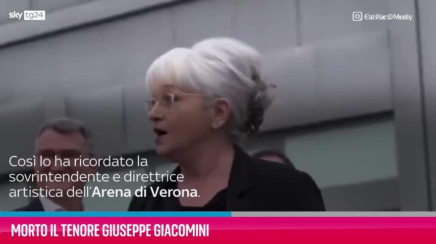 VIDEO Morto il tenore Giuseppe Giacomini: aveva 80 anni