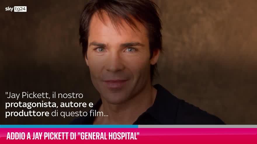"""VIDEO Addio a Jay Pickett di """"General Hospital"""""""