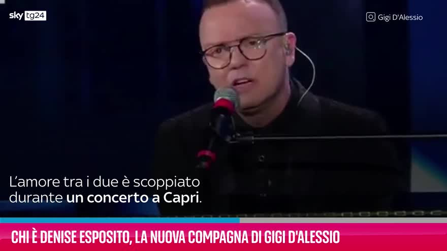 VIDEO Denise Esposito, la nuova compagna di Gigi D'Alessio