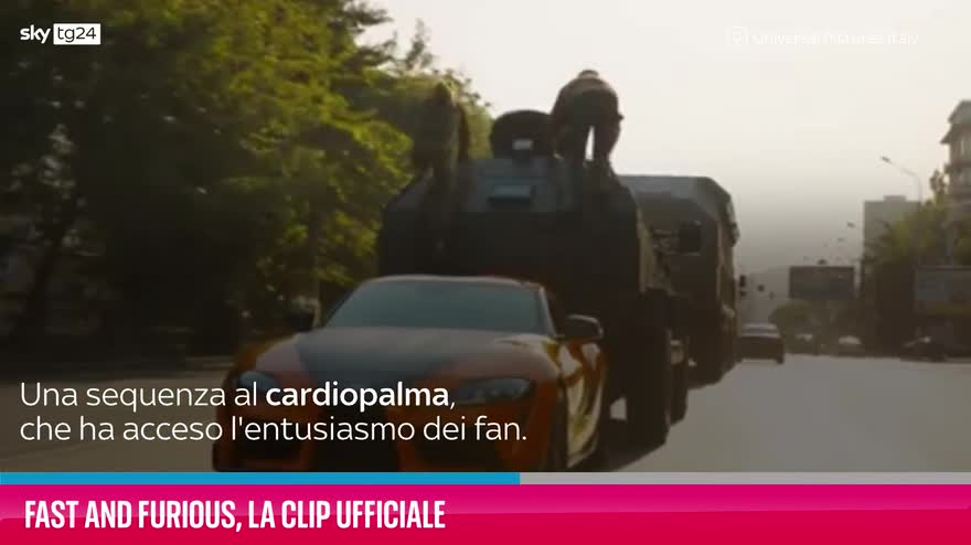 VIDEO Fast and Furious, la clip ufficiale