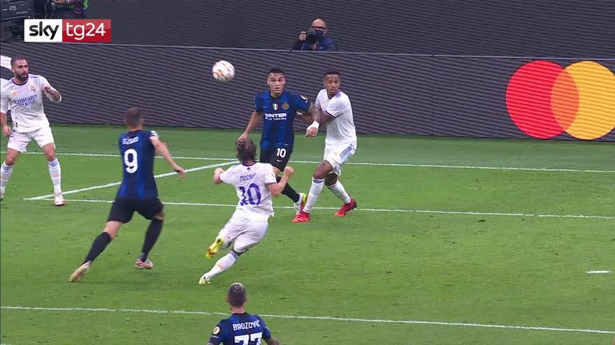 Champions, Inter-Real Madrid 0-1: video, gol e highlights