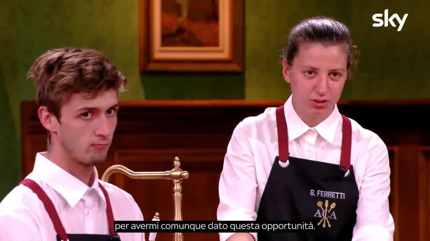 Antonino Chef Academy - gli eliminati Gambarelli e Ferretti