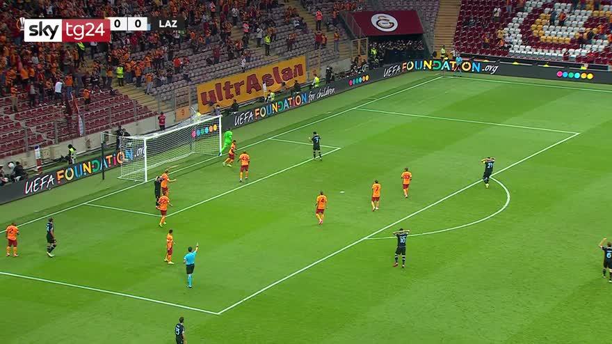 Galatasaray-Lazio 1 0: gol e highlights