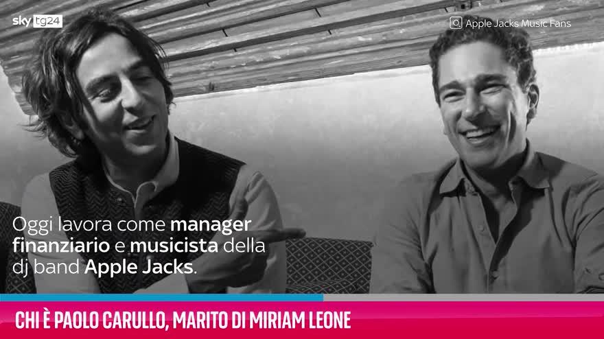 VIDEO Chi è Paolo Carullo, marito di Miriam Leone