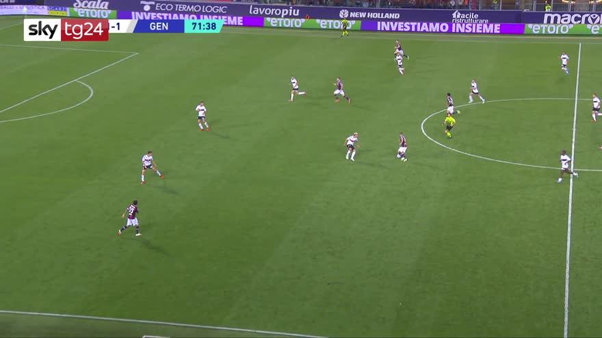 Serie A, Bologna-Genoa 2-2: gol, video e highlights