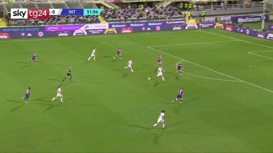 Serie A, Fiorentina-Inter 1-3: video, gol e highlights