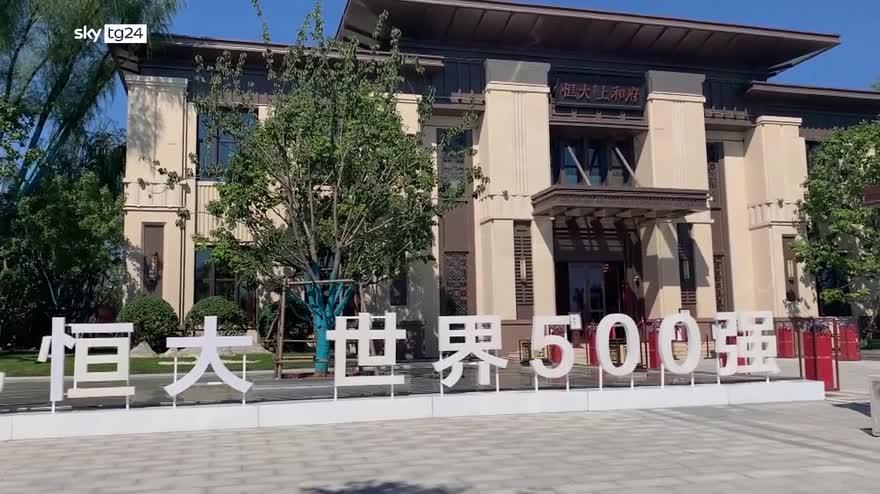 Pechino avvisa su possibile default della Evergrande