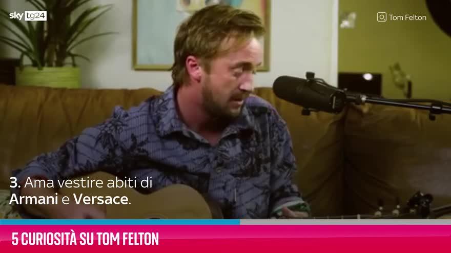 VIDEO Tom Felton, 5 curiosità sull'attore