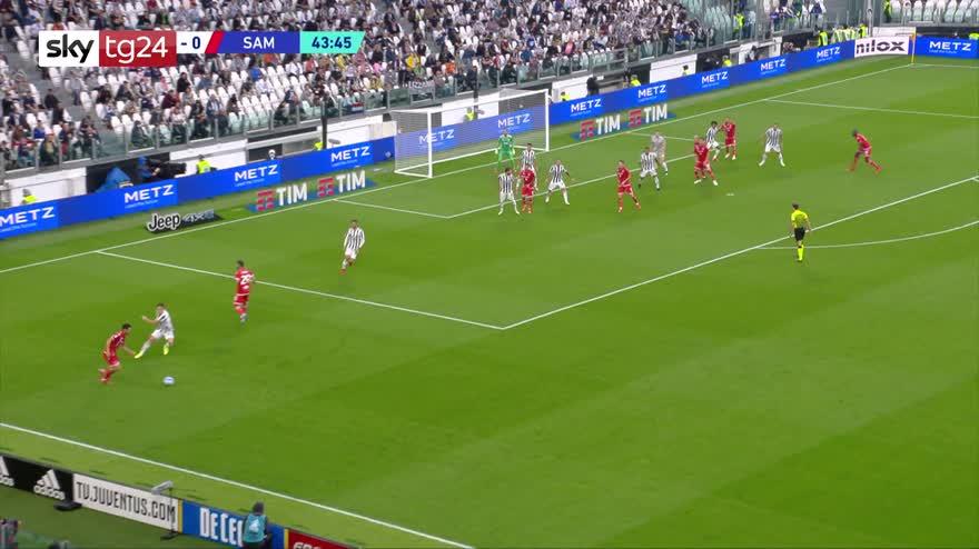 Serie A, Juventus-Sampdoria 3-2: video, gol e highlights