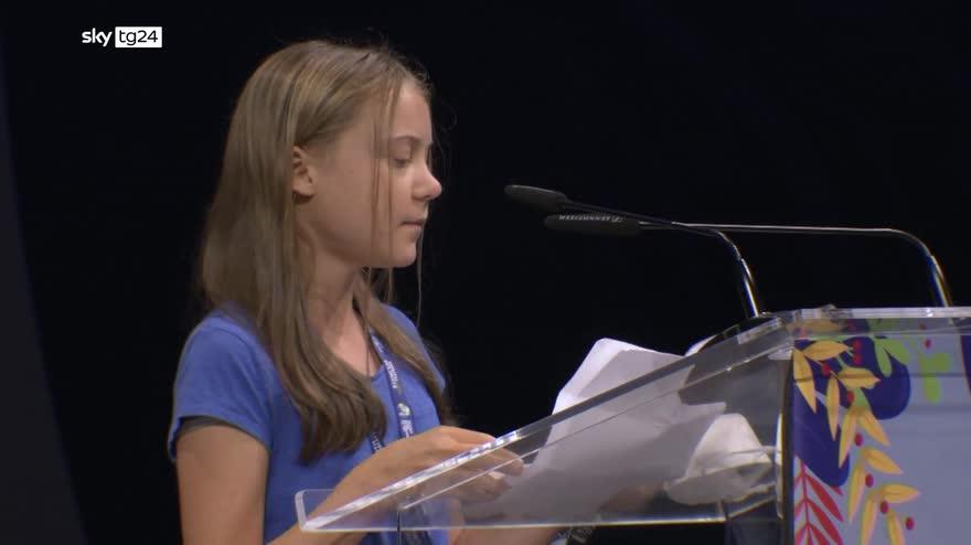 Pre Cop26, Greta Thunberg a Milano per Youth4climate. VIDEO