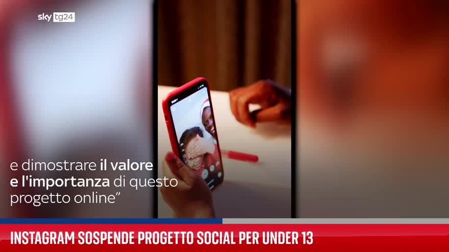 Instagram sospende progetto social per under 13
