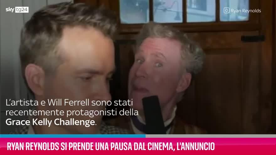 VIDEO Ryan Reynolds si prende una pausa dal cinema