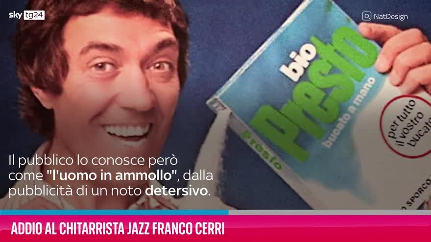 VIDEO Addio al chitarrista jazz Franco Cerri