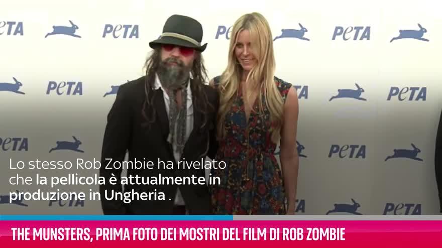 VIDEO The Munsters, prima foto del film di Rob Zombie