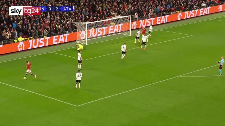 Champions League, Manchester Utd-Atalanta 3-2: highlights