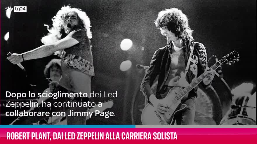 VIDEO Robert Plant, dai Led Zeppelin alla carriera solista