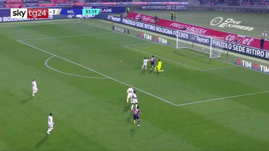 Serie A, Bologna-Milan 2-4: video, gol e highlights