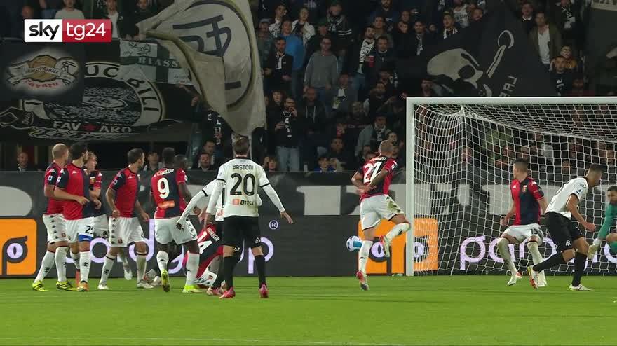 Serie A, Spezia-Genoa 1-1: video, gol e highlights
