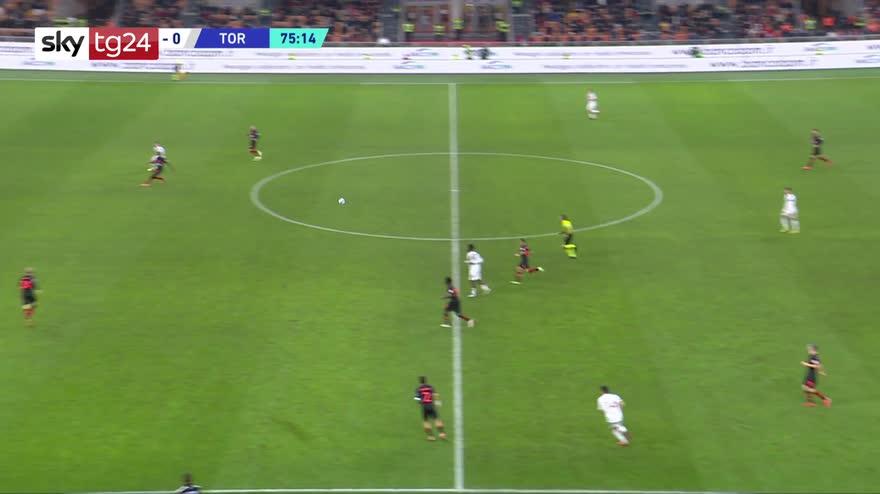 Serie A, Milan-Torino 1-0: video, gol e highlights