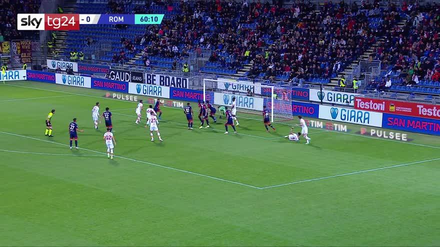 Serie A, Cagliari-Roma 1-2: video, gol e highlights