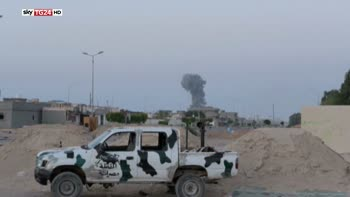 Libia, via a raid Usa contro ISIS a Sirte su richiesta del governo