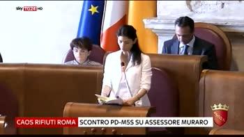 Caos rifiuti Roma, scontro Pd-M5s su assessore Muraro