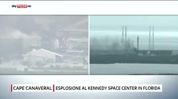 Esplosione a Cape Canaveral