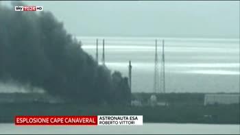 Esplosione a Cape Canaveral astronauta esa vittori