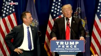 Trump, da Priebus no a immigrati da paesi sospetti