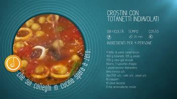 Alessandro Borghese Kitchen Sound - Crostini con totanetti