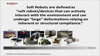 Soft robot scienziati italiani primi al mondo OK