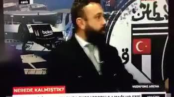 giornalisti esplosione in diretta istanbul besiktas