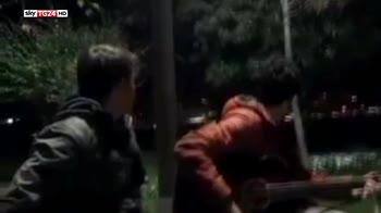 Video amatoriale mostra esplosione a Istanbul