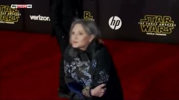 Carrie Fisher, una carriera all'insegna di Star Wars