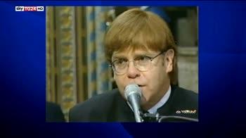 Elton John piange George Michael