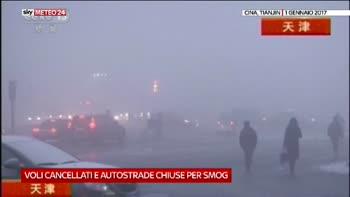 Smog nel nord della Cina