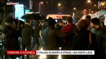 5 italiani scampati a strage